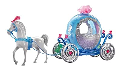 Disney Princess Cinderella Transforming Pumpkin Carriage from Mattel
