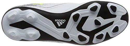 adidas Ace 17.4 Fxg, Botas de Fútbol Unisex Niños Blanco (Footwear White / Solar Yellow / Core Black)