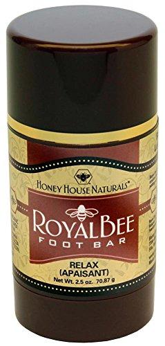(Honey House Naturals Royal Bee Foot Bar, Relax)