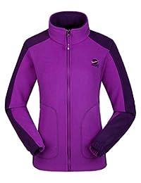Kaisike Women's Warm Winter Jacket Fleece Lined Lightweight Classic Fit Coat
