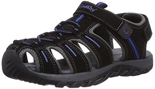 ConWay 660205 Unisex-Erwachsene Sport & Outdoor Sandalen Schwarz (Black/Grey/Blue)