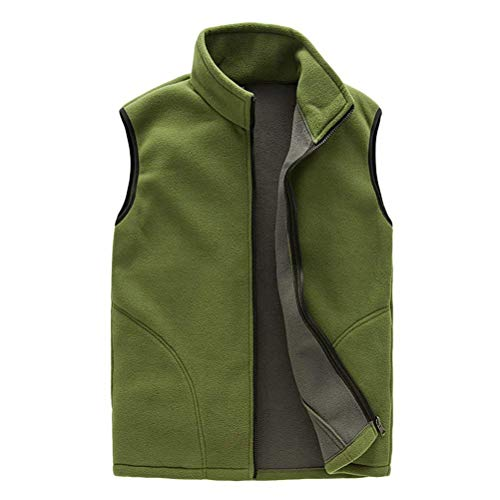 Vest Unisex Womens Outdoor Outwear Traspirante Body Verde Gilet Mens Essenziale Warm Zipper Emmay Hello Sports Fleece Shell Soft 6gWOx
