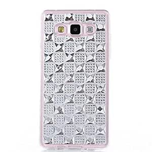 HJZ TPU Gem Diamond Following From Appearance for Samsung Galaxy A5 (Assorted Colors) , Pink
