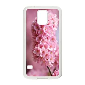 SamSung Galaxy S5 phone cases White Japanese Flower Sakura fashion cell phone cases UYIT2282666