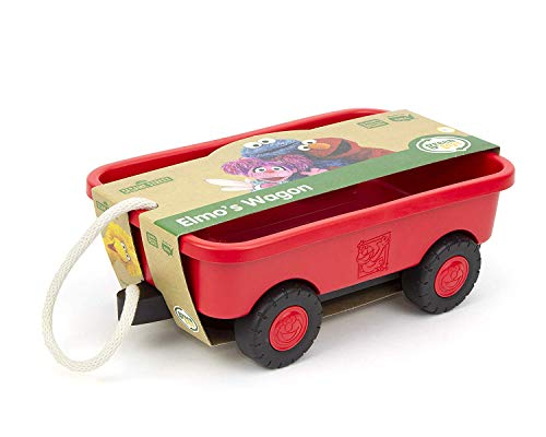 (Green Toys Elmo's Wagon)