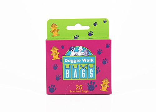 Image of Doggie Walk Bags Classic Baby Powder Box Blue, 25-Bags