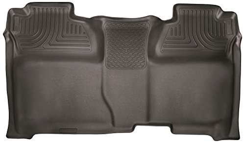 Husky Liners 53900 Cocoa Second Seat - Full Coverage Fits 14-18 1500, 15-19 Silverado/Sierra 2500/3500 Crew Cab