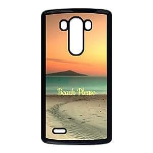 Beach Please Summer LG G3 Cell Phone Case Black toy pxf005_5987340