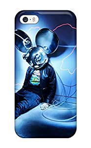 Best durable Protection Case Cover For Iphone 5/5s(deadmau5) 2267598K39783318