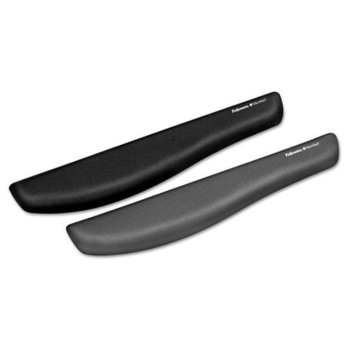 Fellowes PlushTouch Wrist Rest with FoamFusion Technology, Graphite (9252301) Color: Graphite, Model: 9252301, Electronics & Accessories Store by Gadgets World