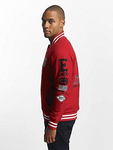 Unltd giacca Rosso College Ecko Big Uomo Giacche Logo qRnT1BP