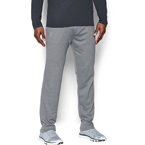 Under Armour Men's Tech Terry Pants, True Gray Heather/Steel, XX-Large