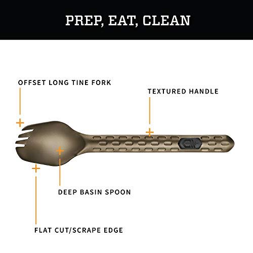 Gerber Devour Multi-Fork, Camp Eating Tool, Burnt Bronze [31-003420] - http://coolthings.us