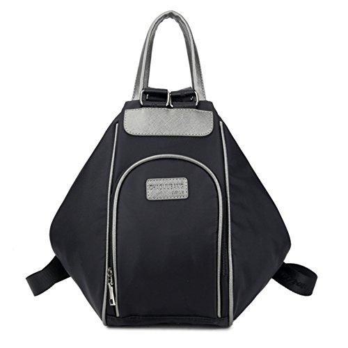 Hipytime BHB880406C3 Explosion Models Nylon Europe Women's Handbag,Square Cross-Section Backpack (Vintage Burberry Scarf)