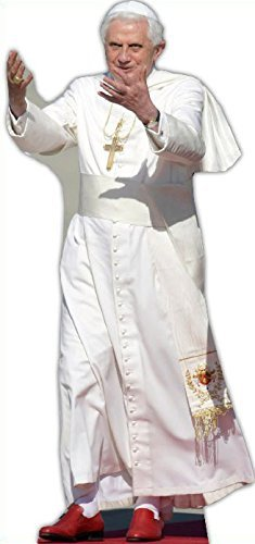 Star Cutouts Cut Out of The Pope by Star Cutouts Ltd