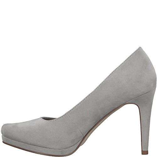Abendschuhe Plateaupumps 21 modisch Stiletto Plateau Grey 5cm Plateauschuhe Frauen High Pumps Damen Heels Party Tamaris Plateau 22456 9 Sohle q5Pxt
