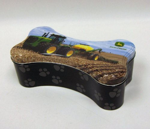 Trendware John Deere Dog Bone Tin