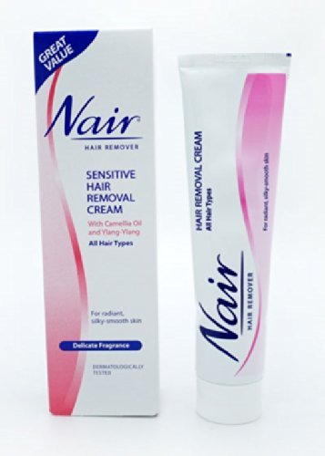 3x Nair Moisturising Sensitive Hair Removal Cream Legs Arms