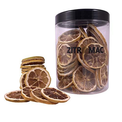 Gedroogde gele citroen voor cocktails. Droog fruit zonder suiker voor cocktails / decoratie / banketbakkerij / Kerstmis…