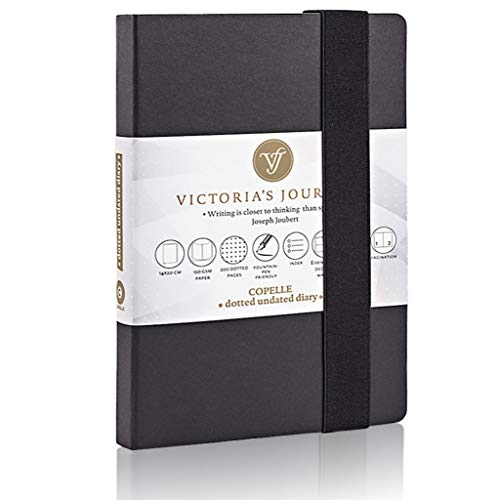 VICTORIA'S JOURNALS Dotted Journal Classic Notebook