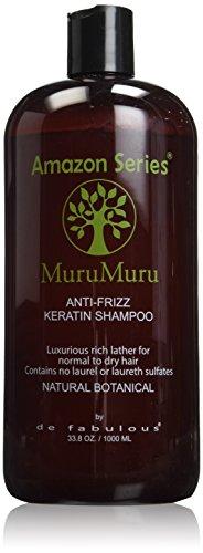 Amazon Series Murumuru Anti-Frizz Keratin Shampoo, 33.8 Ounce
