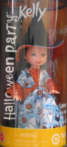 Barbie Kelly Halloween Party Lorena Witch Doll - Target Special Edition (2002) -