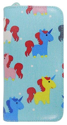 Kukubird Licornes Chats Clutch Ancre Motif Unicorn Floral Animaux Wallet Parapluie Turquoise Dames De Sac Grande Divers qIr7wI