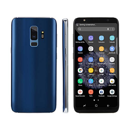 Maonet Fashion 6.1 inch Dual HDCamera Smartphone Android 7.0 IPS Full Screen GSM/WCDMA 4GB Touch Screen WiFi Bluetooth GPS 3G Call Mobile Phone (Blue) by Maonet (Image #1)