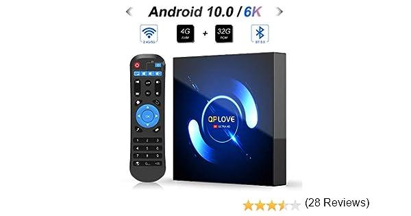 Android 7.1 Smart TV Box, 2 GB + 16GB H96 Mini + cubierta TV Amlogic s905 W Quad Core 64bits CPU Set Top Box soporte 4 K Ultra HD/2.4 GHz WiFi/100 M