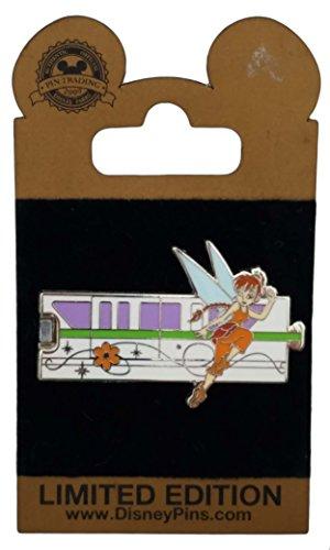 Disney Pin - Gold Card - Green Monorail -Fawn
