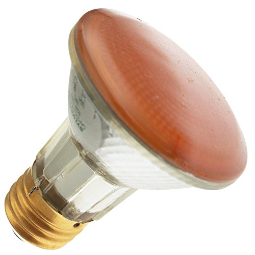 Industrial Performance 50PAR20/H/Y 130V, 50 Watt, PAR20, Medium Screw (E26) Base Transparent Yellow Light Bulb (1 Bulb) ()