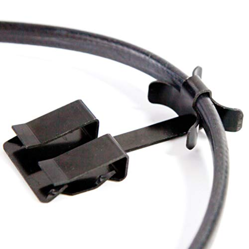 Grip Clip, Heat Cable Clip, Nail-Free, for Securing Ice Dam Heat Tape to Roofs, (25 Pack)