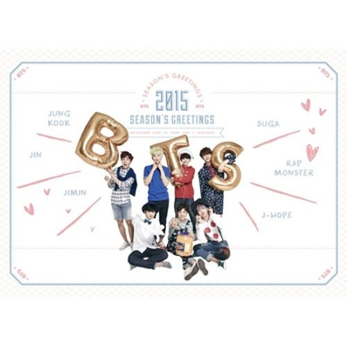 Bts seasons greetings amazon bts 2015 season greeting 1 dvd calendar scheduler poster calender m4hsunfo