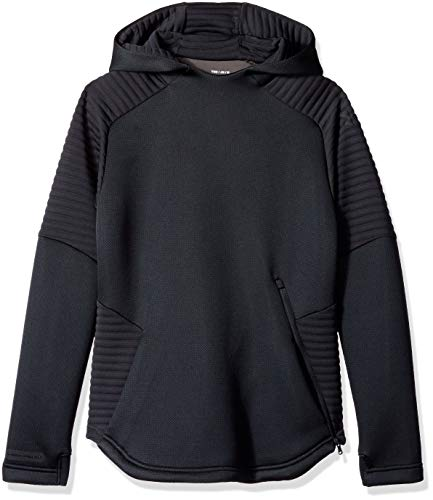 Under Armour Boys Move Hoodie, Black (001)/Black, Youth X-Large