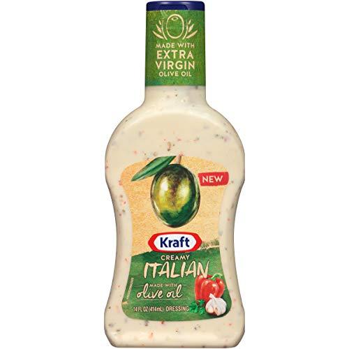 Kraft Creamy Italian Olive Oil Dressing (14 oz Bottle)