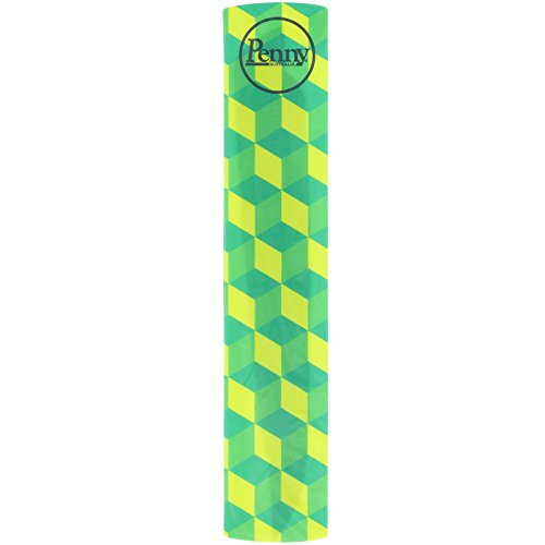 "Penny Panel Sticker Nickel 27"" Panel Cube Yellow/Green - Single Unit Decal"