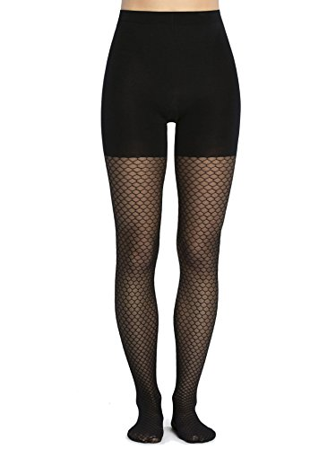 Spanx Cotton Tights - SPANX Women's Honeycomb Fishnet Tights, Very Black, C