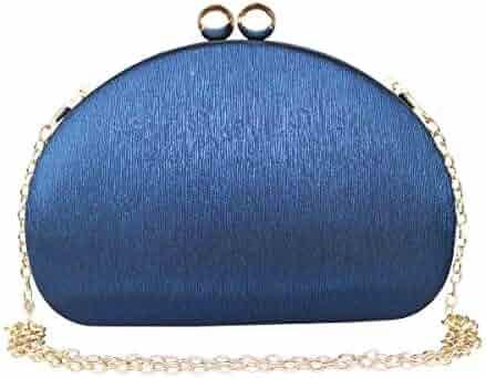 89a09a8c0 Gesu Women Clutches Solid Evening Bag Glitter Clutch Purses Wedding Party  Bridal Purse.