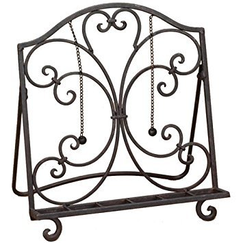 Baldwin Metal Cookbook Stand by Chic Citizen by Tripar