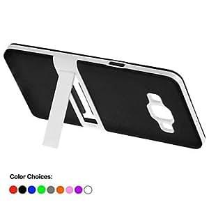 GX Teléfono Móvil Samsung - Cobertor Posterior/Fundas con Soporte - Color Sólido/Diseño Especial - para Samsung Galaxia A5 ( , Black