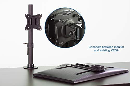VIVO Height Adjustable VESA Adapter Accessory Bracket Kit Individual Monitor 13'' to 27'' Screens (Stand-VAD3) by VIVO (Image #3)
