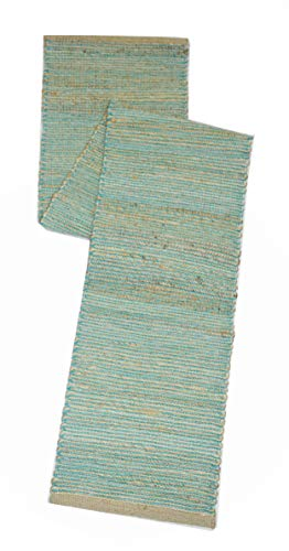 (Chardin home Eco-Friendly Natural Jute/Cotton Table Runner, Size: 13