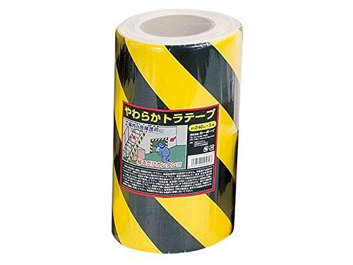 やわらかトラテープ 240mm×3M 【10個セット】 カーボーイ/トラスコ中山 B00TI4E57I