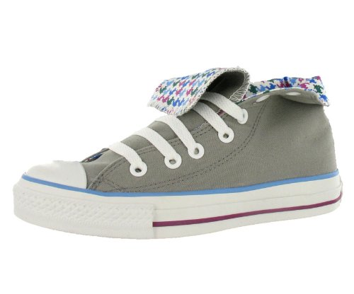 Converse All Star Chuck Taylor Roll Down Hi Unisex Shoes Size US 5, Regular (D, M) Width, Color Violet/Gray/Multicolour (Shows Converse)