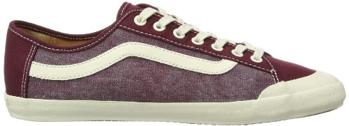 Vans Happy Daze, Men's Low-Top Trainers Red - Rot (Washed) Port R)