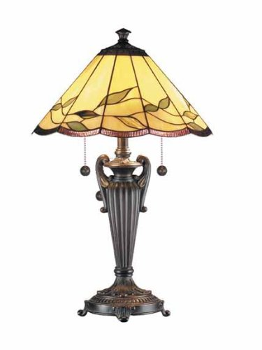 Dale Tiffany TT101118 Falhouse Table Lamp, 16.0