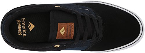 Skateboardschuhe Black Herren Low Reynolds The Navy VULC Emerica fwgXqx