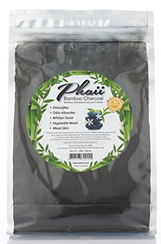 Hemp Fleece Inserts 2 Layer (Bamboo Activated Charcoal Powder 1 lb - Food Grade - Use For Teeth Whitening, Odor Absorber, Detoxifies, Digestion, Mask Skincare, Vegetable Wash - Homemade Toothpaste & Cooking - 100%)