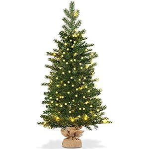 Goplus Christmas Tree Tabletop Artificial PVC Green Tree 3