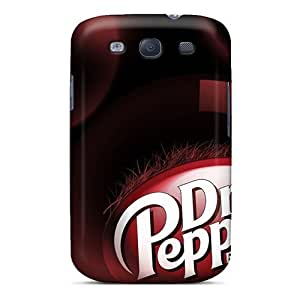 Awesome Dr Pepper Flip Case With Fashion Design For Galaxy S3